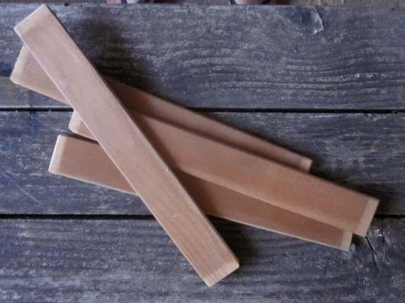1. Choose desired length of slats