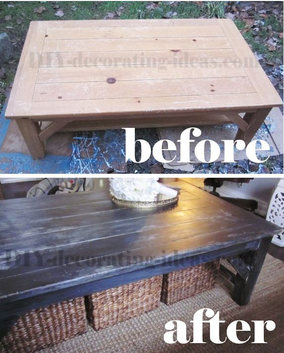 Paste Wax For Table Saw faux wax coffee table actually started as an old beat up coffee table ...